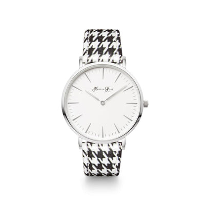 Dog Tooth (Silver/white) - Watches