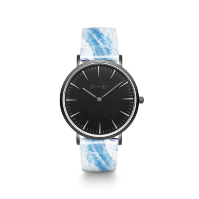 Ocean Marble (Black/black) - Watches