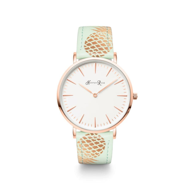 Pineapple (Rose Gold/white) - Watches