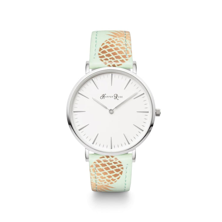 Pineapple (Silver/white) - Watches