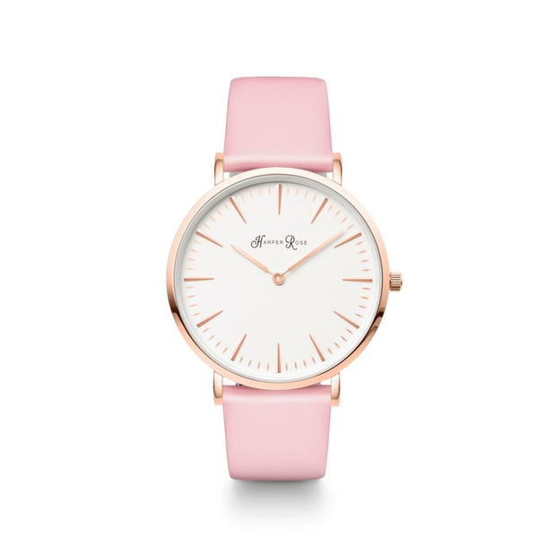 Pink Pastel (Rose Gold/white) - Watches
