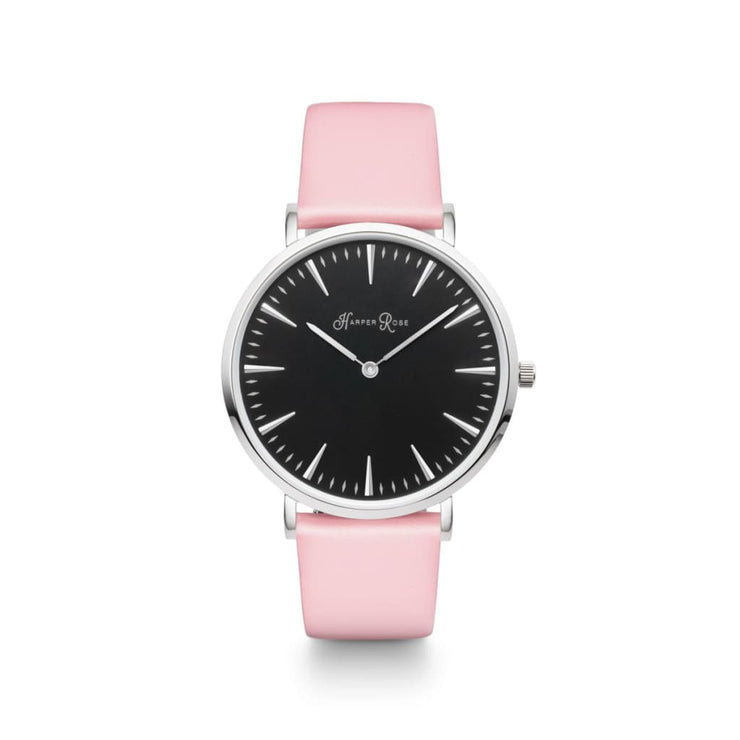 Pink Pastel (Silver/black) - Watches