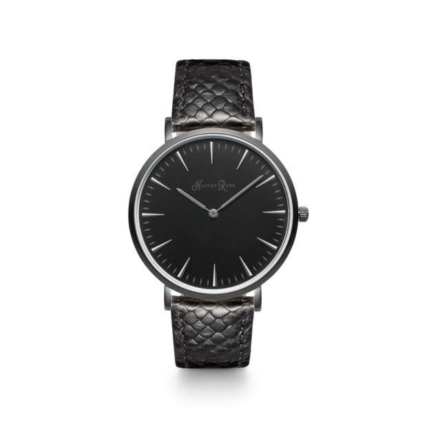 Snake Skin (Black/black) - Watches