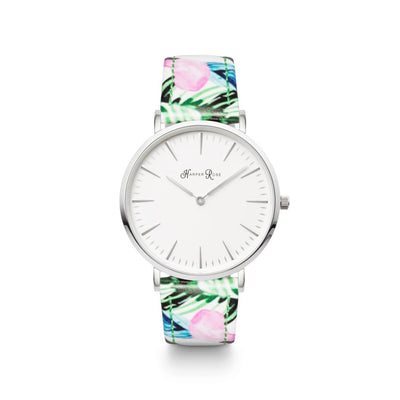 Tropical Leather (Silver/white) - Watches