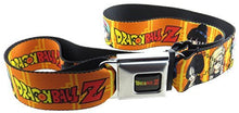 Dragon Ball Z Seatbelt Belt Anime Goku Adjustable Waist Size