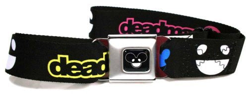 deadmau5 with Mouse Head and Logo Seatbelt Belt