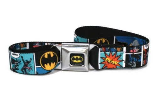Batman Comic Strip Seatbelt Belt