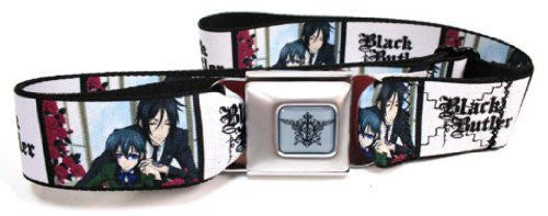 Black Butler Seatbelt Belt - Sebastian & Ciel Blocks Anime