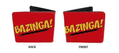 Big Bang Theory CBS Comedy TV Show - BAZINGA Bi-Fold Wallet
