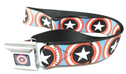 Captain America Shield Seatbelt Belt