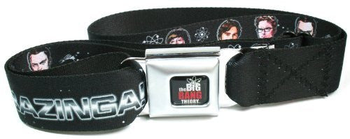 Star Trek X Big Bang Theory Bazinga Crew Seatbelt Belt