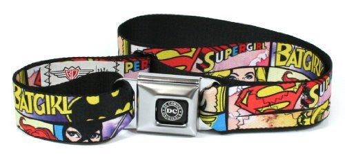 DC Comics Superheroines Seatbelt Belt