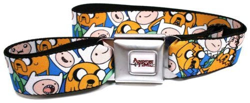 Adventure Time Finn & Jake Seatbelt Belt