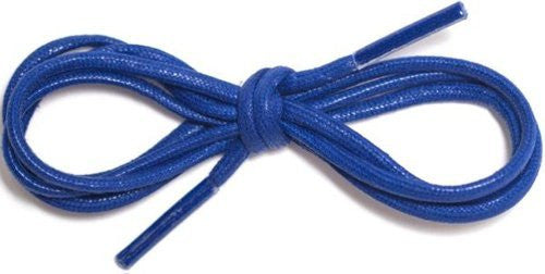 Waxed Cotton Round Shoelaces 1/8