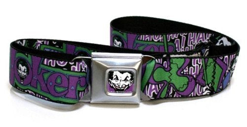 Batman Joker Buckle Seatbelt Belt