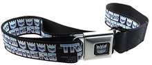 Transformers Seatbelt Belt Autobots and Decepticons Adjustable Waist Size