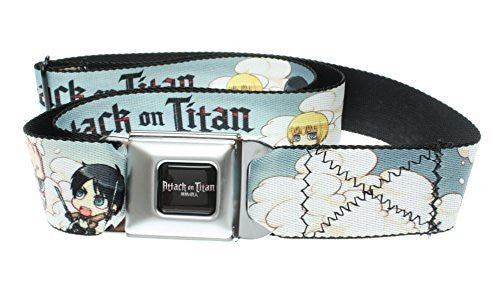 Attack on Titan Characters Seatbelt Belt