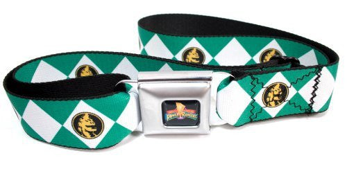 Power Ranger Diamond Green Ranger Seatbelt Belt
