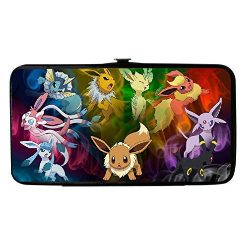 Pokemon Eevee Evolution Smoke Hinged Wallet