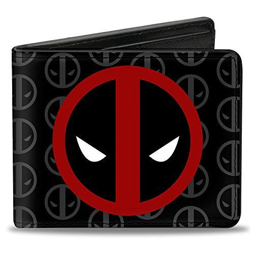 Buckle-Down MARVEL UNIVERSE Bi-Fold Wallet - Deadpool Logo