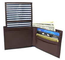 RFID Blocking Wallet Smooth Finish - Genuine Leather