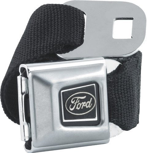 Ford Emblem Seatbelt Belt SBB Strap Color: Black