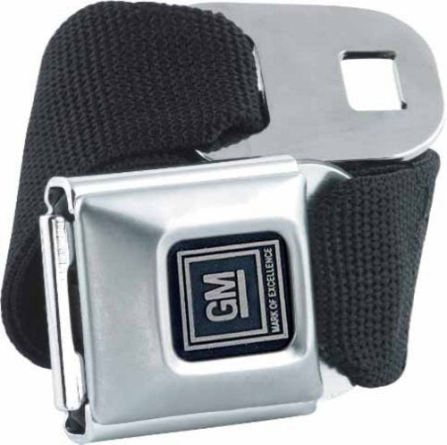 GM Seatbelt Belt SBB Strap Color: Black