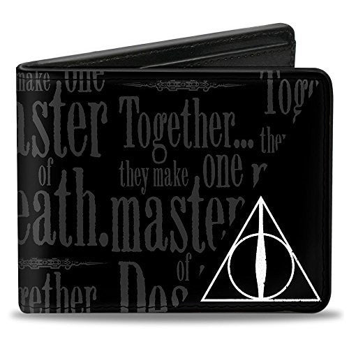 HARRY POTTER Bi-Fold Wallet - TOGETHER...THEY MAKE ON MASTER OF DEATH
