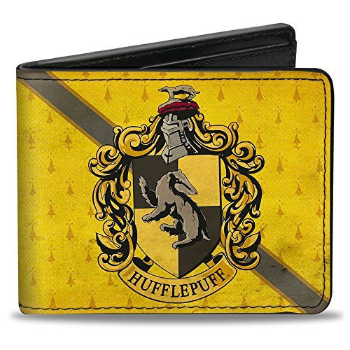 HARRY POTTER Bi-Fold Wallet - HUFFLEPUFF Crest