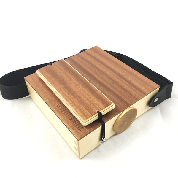 New percussion options: Shaker Snare and mini cajon shakers