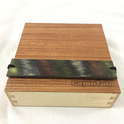"Image of CajonTab® 10"" with woodland external snare"