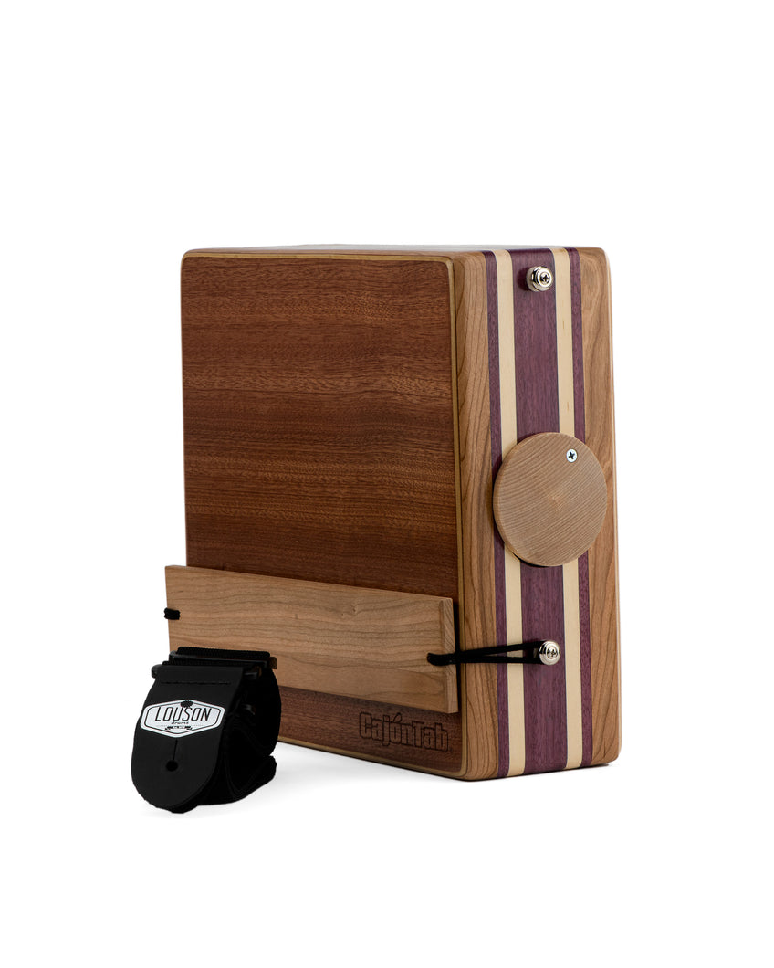 "12"" Pro Series CajonTab- Cherry, Purple Heart, Aspen"