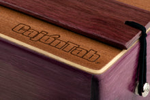 "CajonTab 12"" Pro Series -  Solid Purpleheart wood with snare"