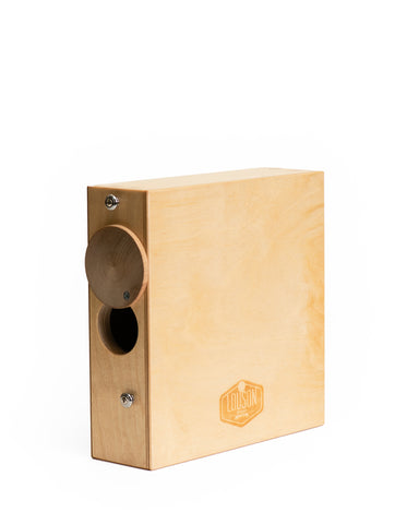 "Image of CajonTab® 10"" with natural external snare"