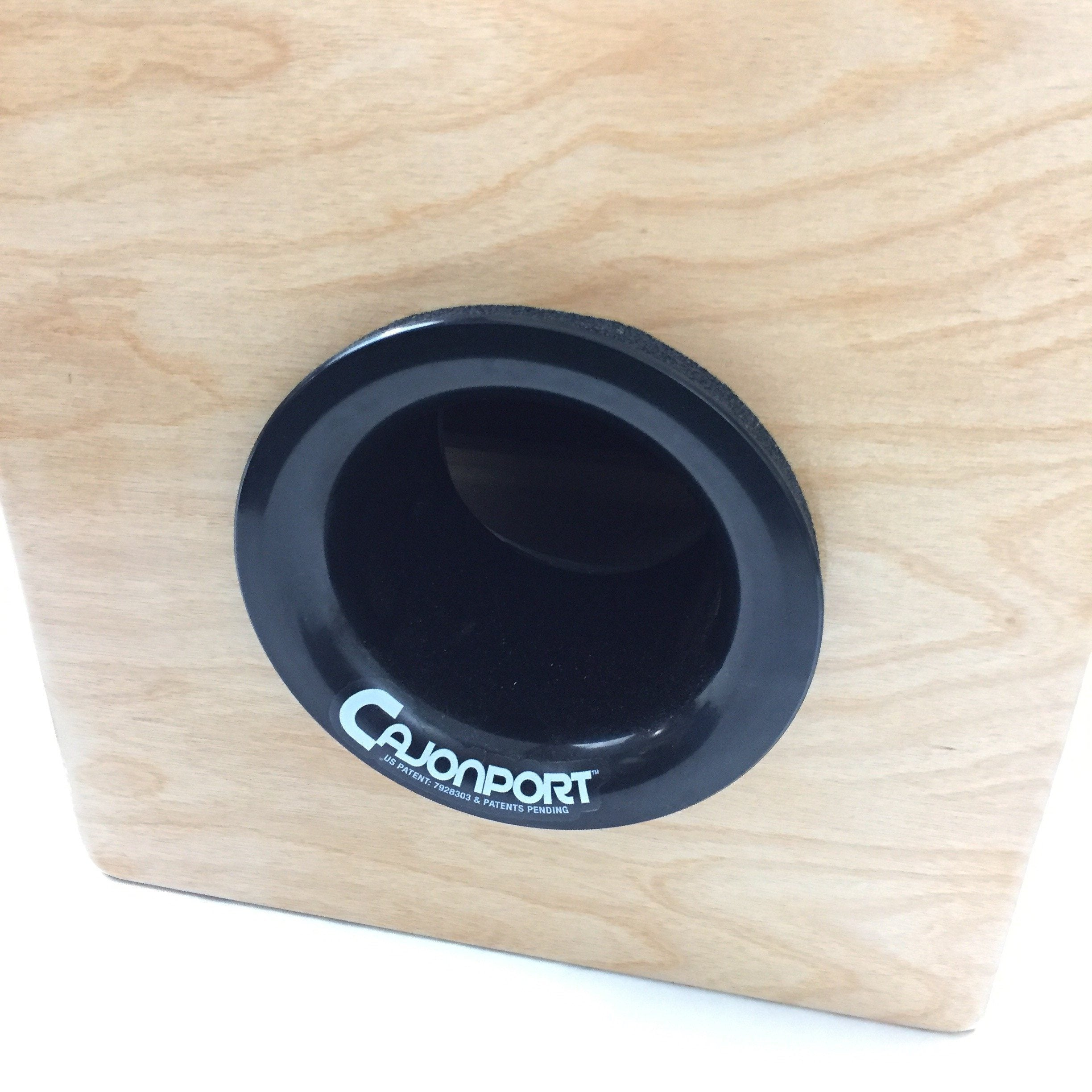 Cajon Accessories - CajonPort™: Cajon Bass Enhancer