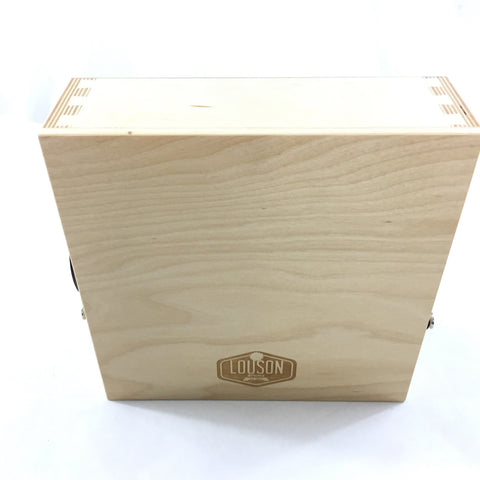"Image of CajonTab® 10"" with espresso external snare"