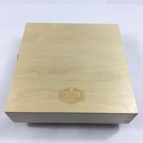 "Image of CajonTab® Jumbo 12"" with natural external snare and Cling On Pickup"