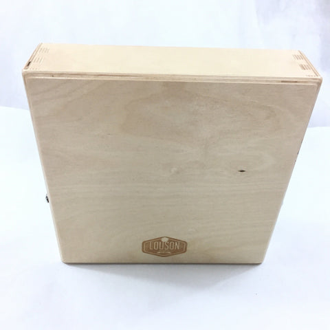 "Image of CajonTab® Jumbo 12"" with natural external snare"