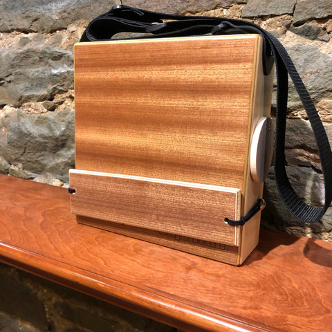 "Image of CajonTab®️ 10"" - matching mahogany snare: limited edition"