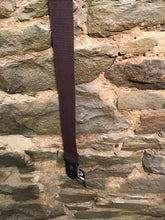 "Perri's Leathers 2"" brown basic cotton guitar strap"