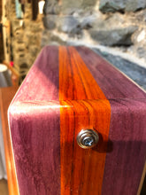 "12"" Pro Series CajonTab- Purple Heart and Padauk"