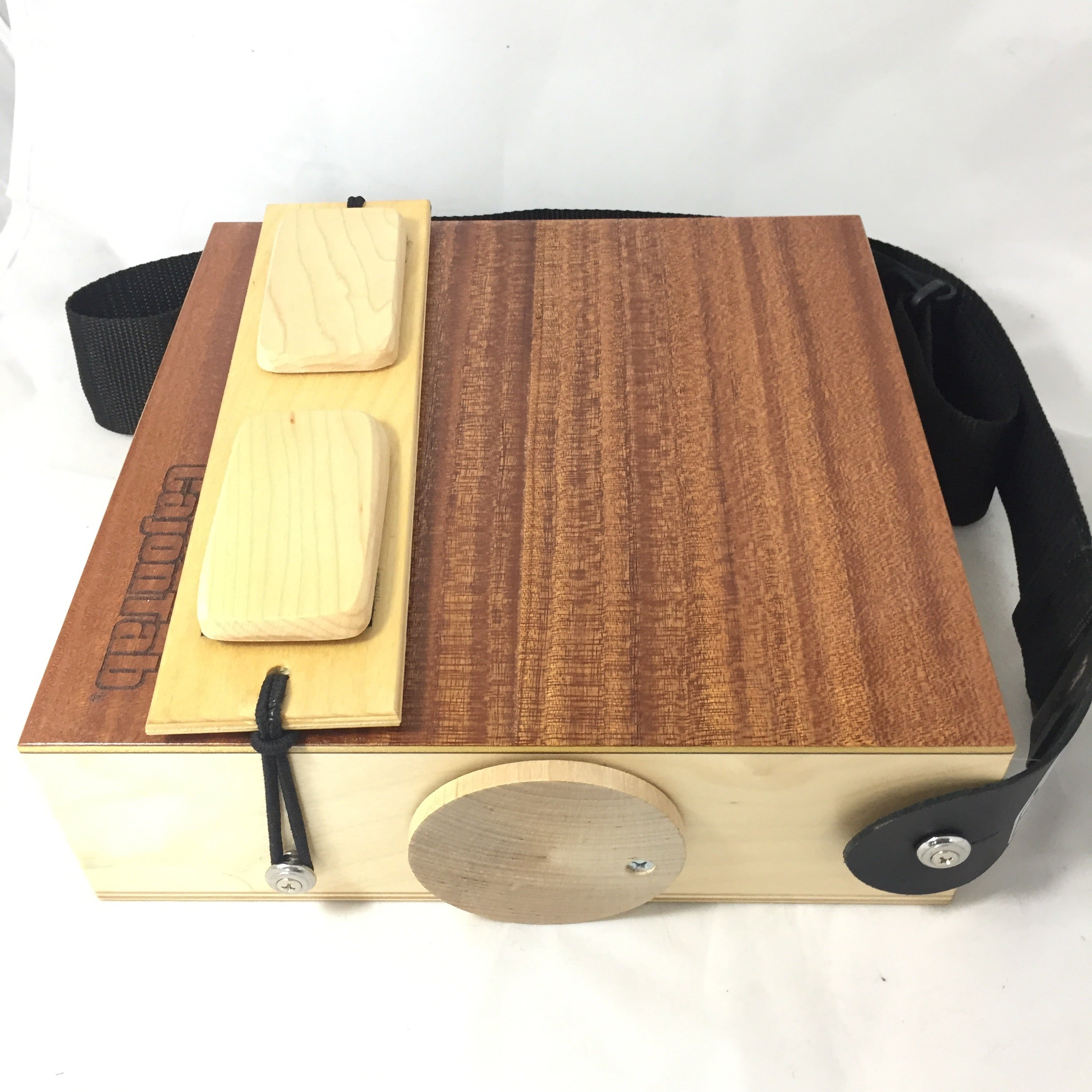 "CajonTab®️ 10"" with hard maple click snare"