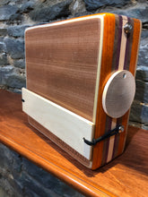 "10"" Pro Series CajonTab - padauk, walnut, purpleheart, and aspen"