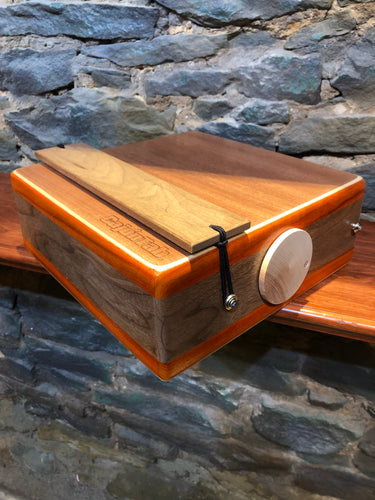"12"" Pro Series CajonTab- Padauk and Walnut, wide core"