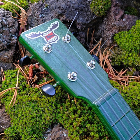 Image of OUTDOOR UKULELE™ SOPRANO GREEN NICKEL