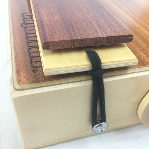 "Image of CajonTab®️ 10"" with bubinga click snare"