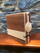 "10"" Pro Series CajonTab - walnut, maple, and purpleheart piccolo"