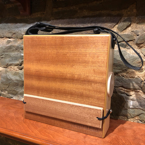 "CajonTab®️ 12"" with matching mahogany snare: limited edition"