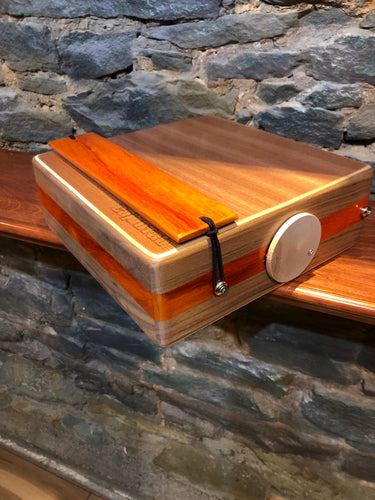 "12"" Pro Series CajonTab- Walnut and Padauk"