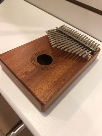 Image of 17-key kalimba, mahogany